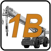1B  - Telescopic Booms w/Running Rope License Prep